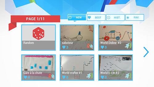 Arcade-Spiele Draw your game für das Smartphone