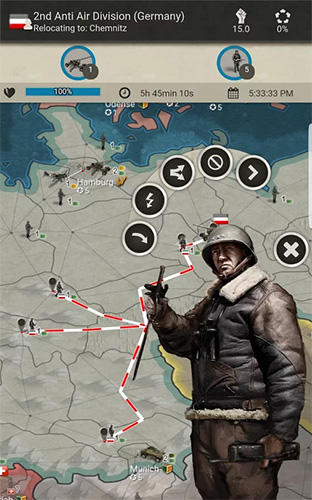 Call of war 1942: World war 2 strategy game для Android