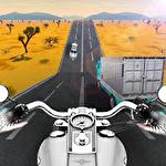 Иконка Highway moto rider: Traffic race
