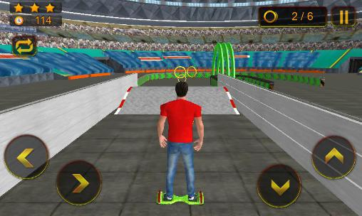 Hoverboard stunts hero 2016 für Android