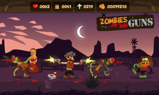 Zombies and gunscapturas de pantalla
