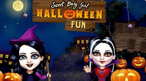 标志Sweet baby girl: Halloween fun