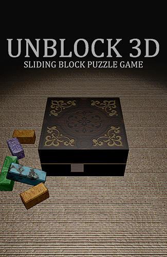 Unblock 3D: Sliding block puzzle captura de pantalla 1