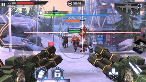 Actionspiele Fusion war für das Smartphone