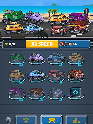 Auto cruise: Idle car merger für Android