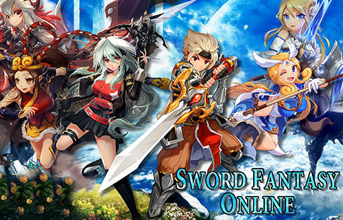 Sword fantasy online: Anime MMORPG captura de tela 1