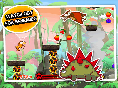 Arcade: download Dino rush to your phone