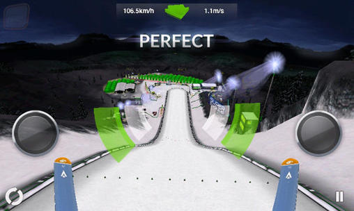 Super ski jump screenshot 3