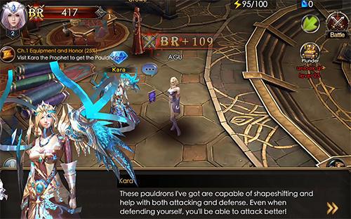 RPG Legacy of discord: Furious wings für das Smartphone