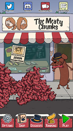 Long keith: The sausage thief auf Deutsch