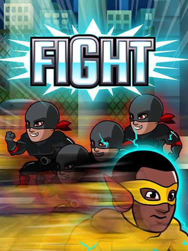 Actionspiele Super league of heroes: Comic book champions für das Smartphone