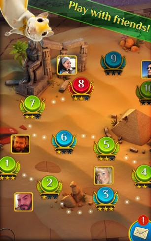 Pyramid: Solitaire saga screenshot 3