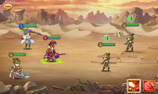 Pocket three kingdoms screenshot 1