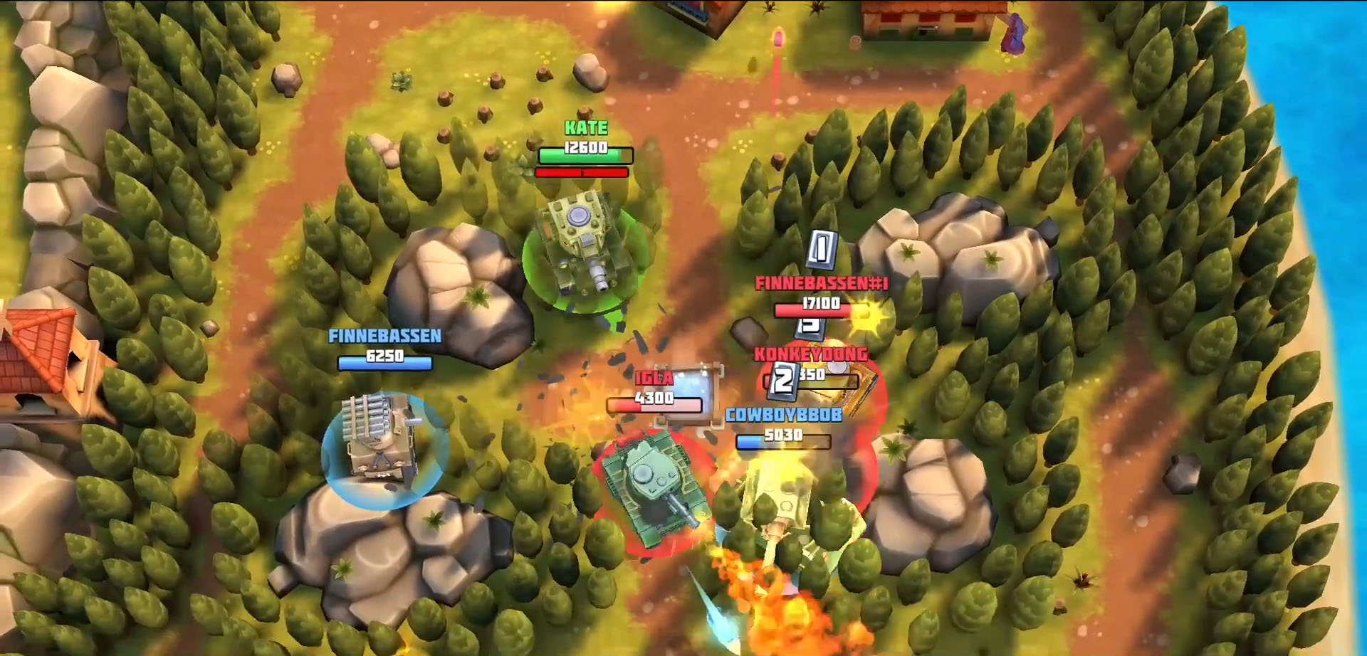 Tanks Brawl : Fun PvP Battles! screenshot 1