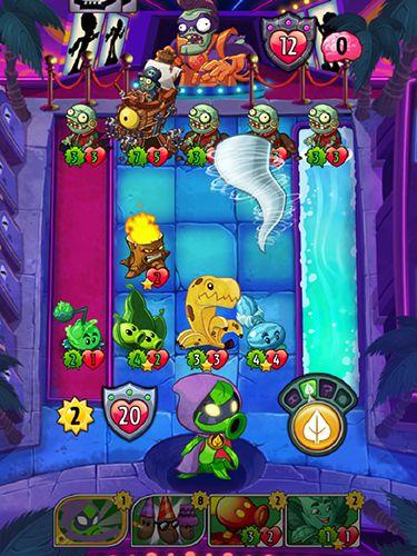 Мультиплеер игры: скачать Plants vs. zombies: Heroes на телефон