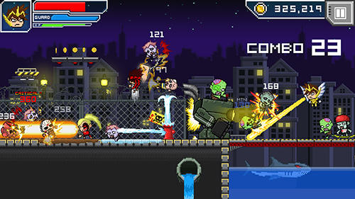 Hero-X: Zombies! для Android