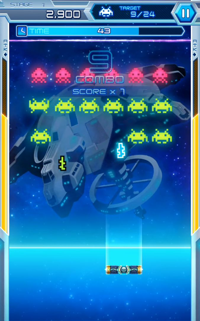 Arkanoid vs Space Invaders captura de pantalla 1