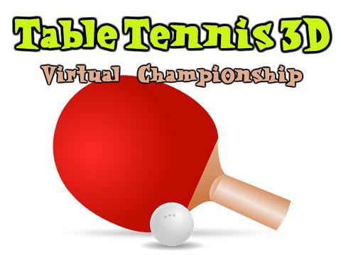 logo Tischtennis 3D: Virtuelle Meisterschaft