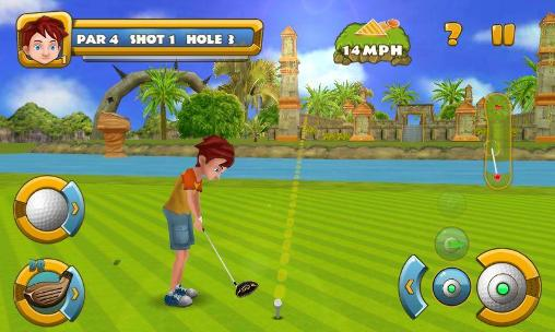 Sports Golf championship for smartphone