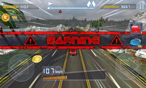 Phone racing 3D. Car rivals: Real racing captura de pantalla 1