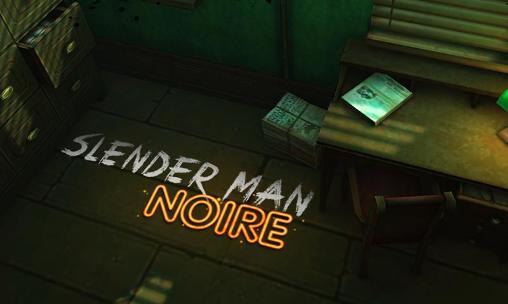 Slender man: Noire screenshot 1
