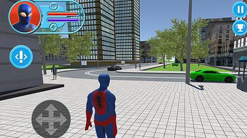 Jogos de ação Strange hero: Future battlepara smartphone