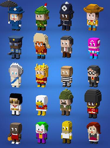 Arcade Blocky cops für das Smartphone