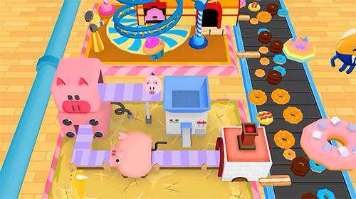 Simulator-Spiele Donuts inc. für das Smartphone