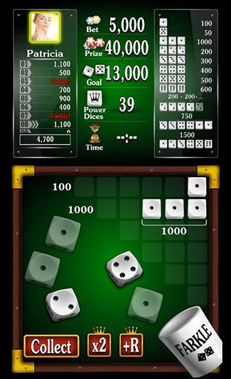 Glücksspiele Farkle: Golden dice game für das Smartphone