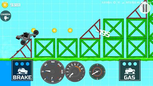 Arcade-Spiele Elastic car 2 für das Smartphone