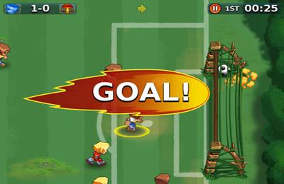 Spassiges Fussballspiel für iPhone