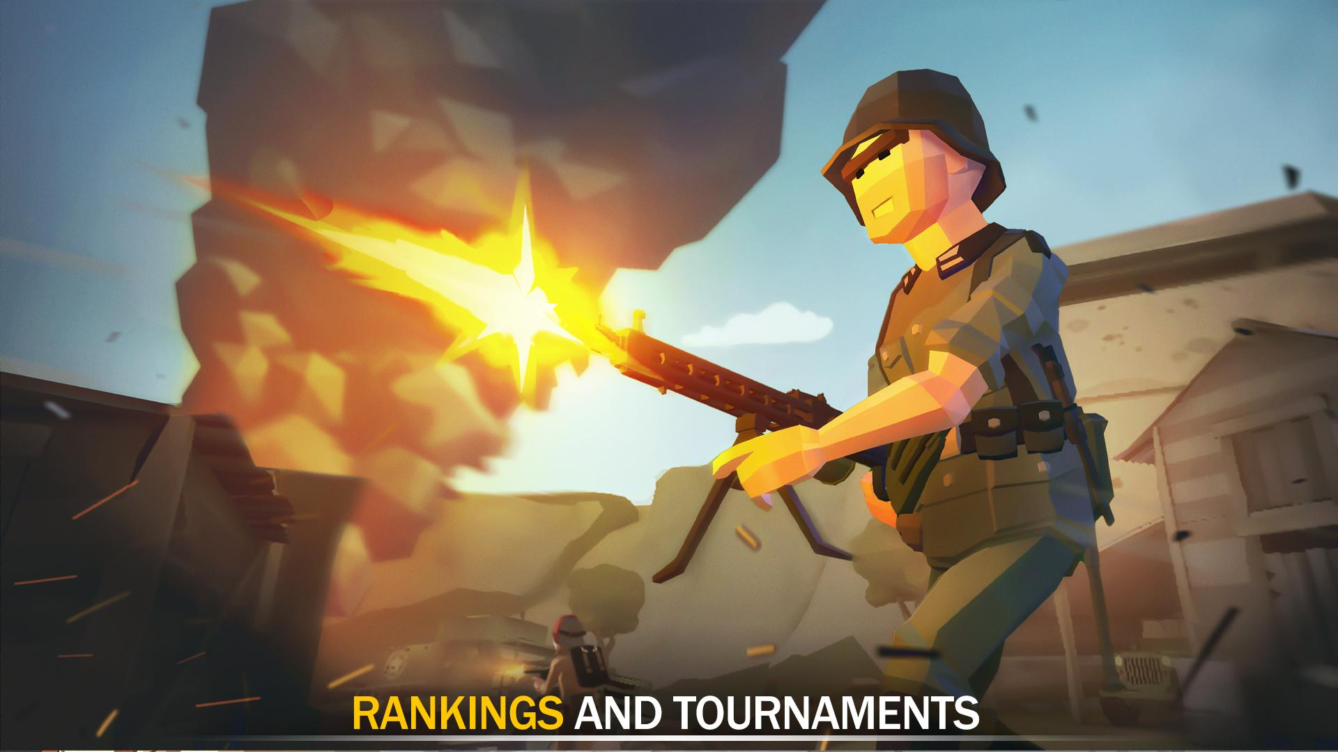War Ops: WW2 Action Games captura de pantalla 1