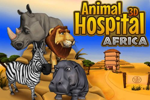 logo Clinique d'animal 3D: Afrique