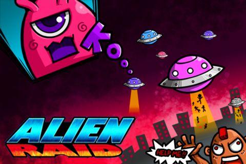 logo Alien raid