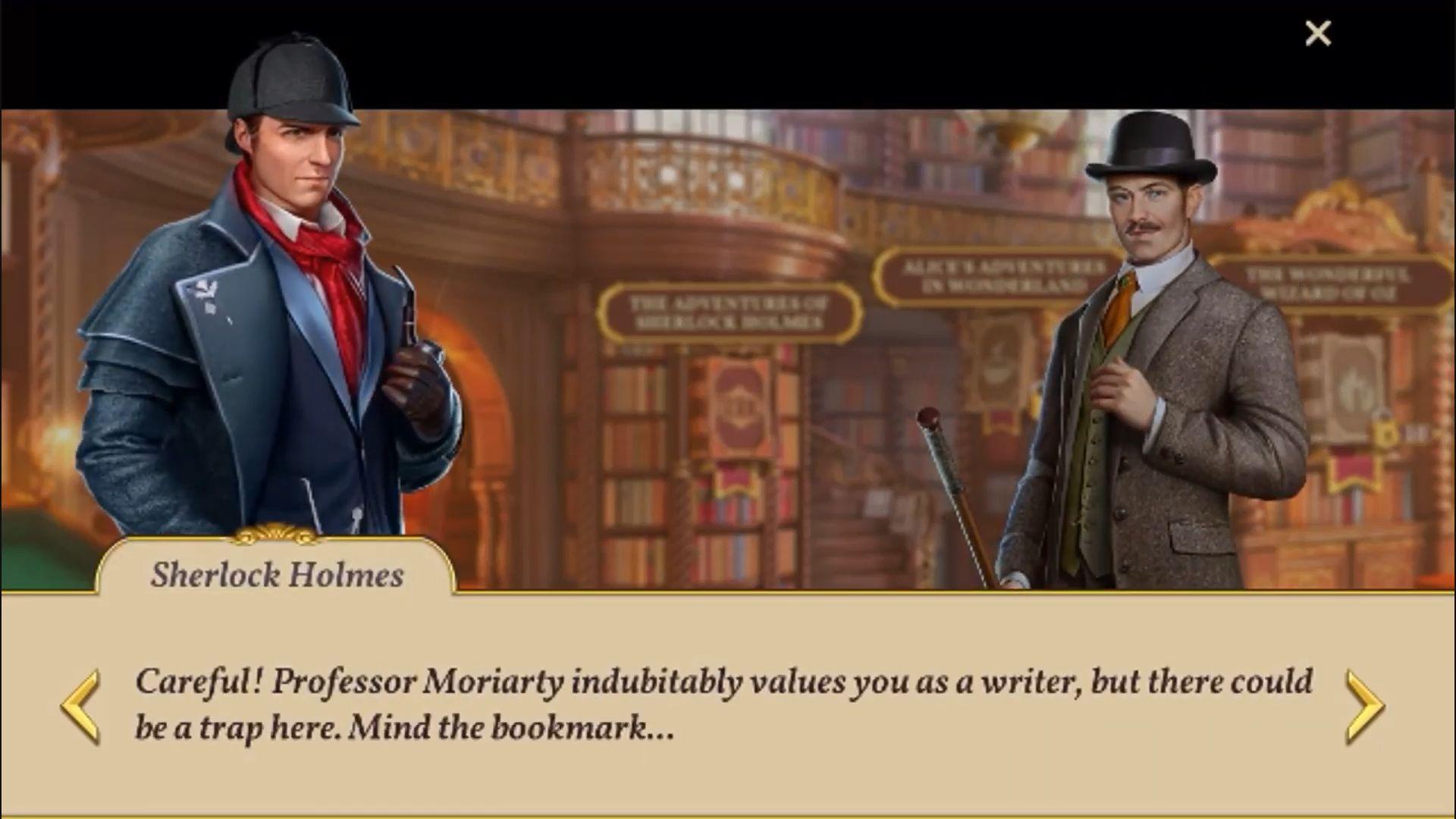 Sherlock: Hidden Match-3 Cases screenshot 1