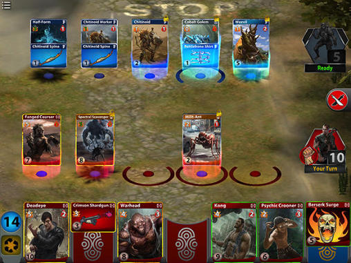 RPG-Spiele Days of discord für das Smartphone