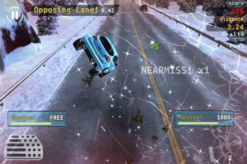 Screenshot X Racer: Verkehrsdrift auf dem iPhone