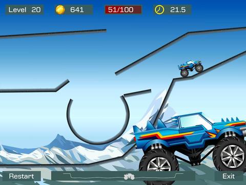 Monster Truck Stunts auf Deutsch