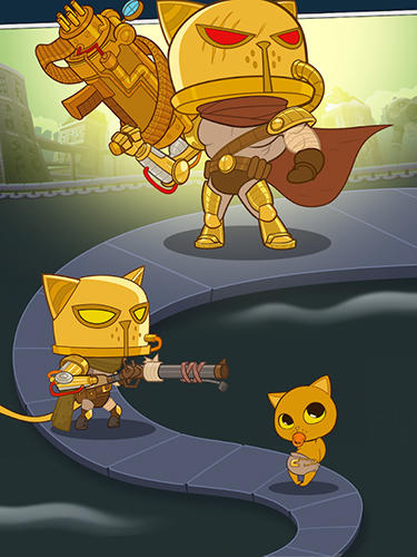 Action AFK Cats: Idle arena with cat heroes für das Smartphone