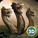 Hydra snake simulator 3D Symbol