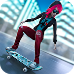 Skateboard: Girls vs boys Symbol