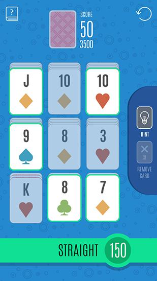 Sage solitaire poker Screenshot