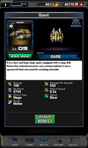 Space knights screenshot 1