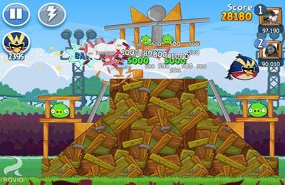 Screenshot Die bösen Vögel und ihre Freunde auf dem iPhone
