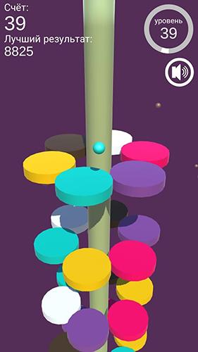 Color jumper: On the helix auf Deutsch
