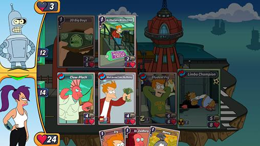 Brettspiele Animation throwdown: The quest for cards für das Smartphone