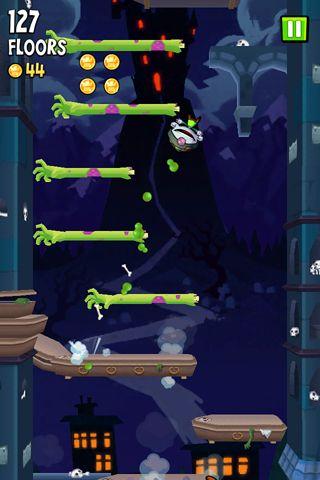 Icy Tower 2: Zombie Sprung auf Deutsch