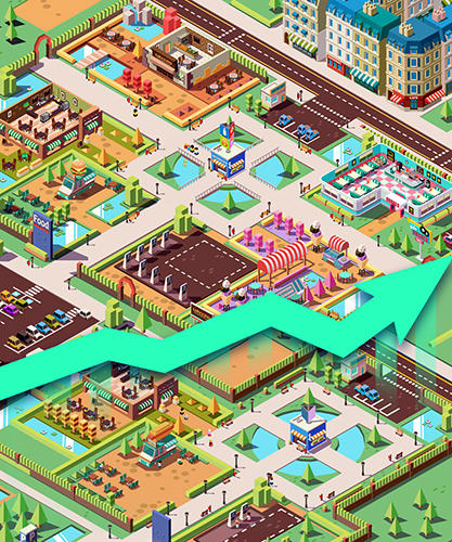 Idle restaurant tycoon: Food empire game capture d'écran 3