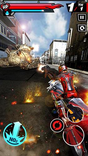 Fury rider screenshot 1