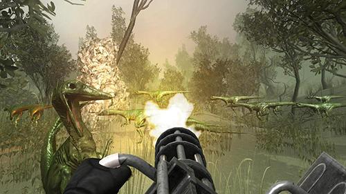Actionspiele Safari deadly dinosaur hunter free game 2018 für das Smartphone